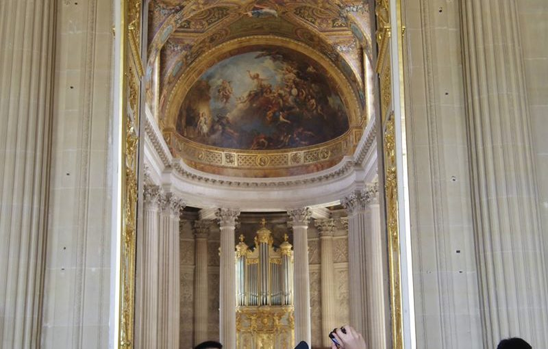 ベルサイユ宮殿に行った時の話