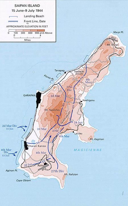 サイパン島の戦いのこと