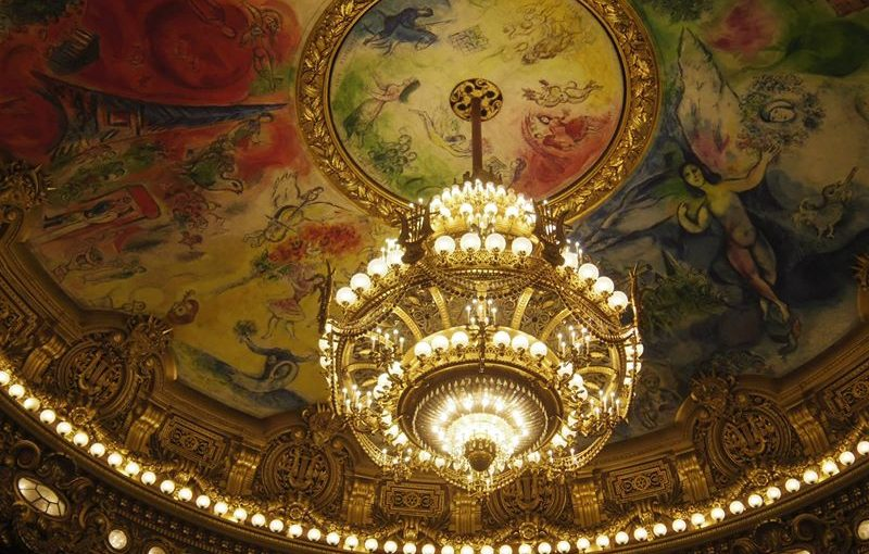 パリのオペラ座を見に行った話