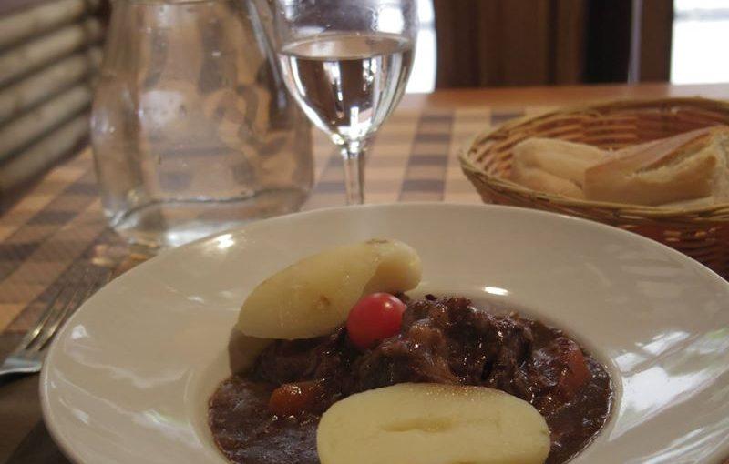 カルチェラタンで食事した時の写真