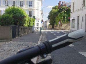 フォンテーヌブローで借りた自転車