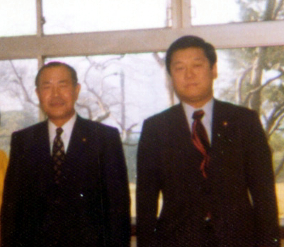 田中角栄氏と小沢一郎氏