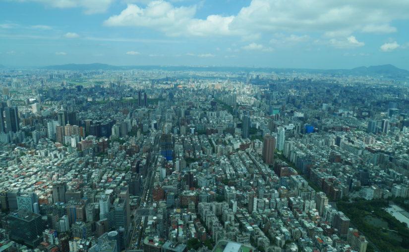 台北101ビルの展望台にのぼった話