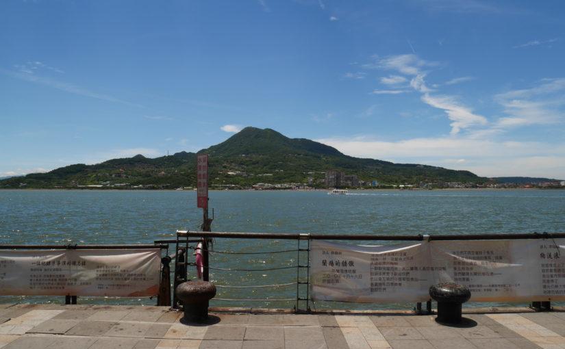 台北郊外の淡水エリア