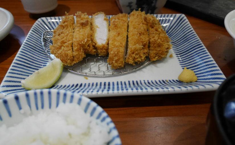 台北駅裏のデパートでとんかつを食べた話