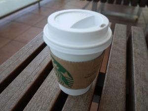 高島屋のスターバックスで買ったコーヒー