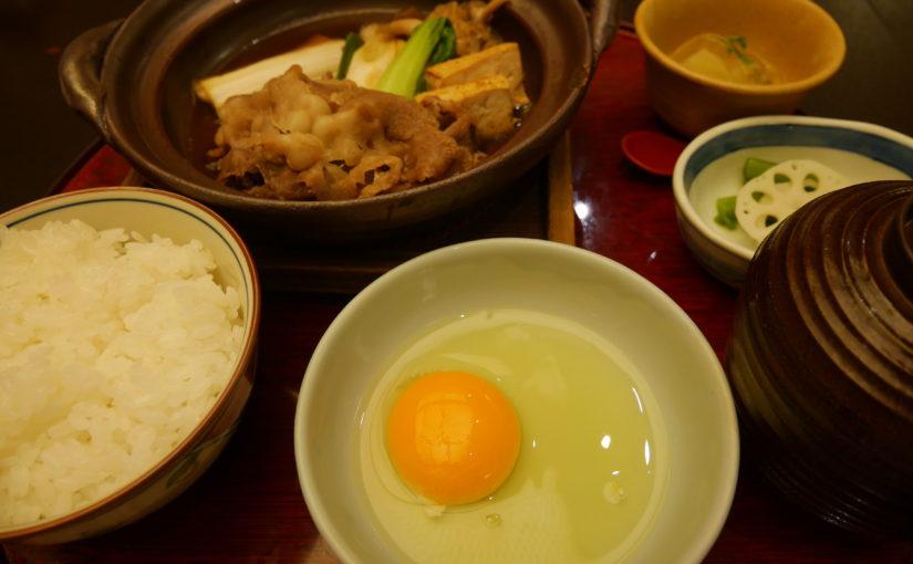 羽田空港国際線ターミナルですき焼き膳を食べた話