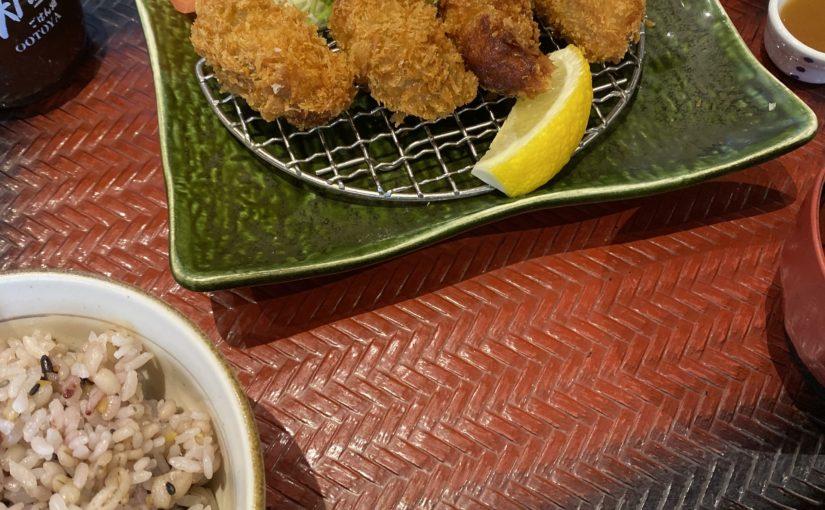 大戸屋の牡蠣フライ