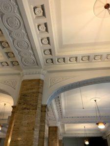 日本郵船歴史博物館の天井