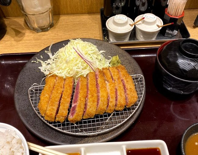 鎌倉の牛かつ