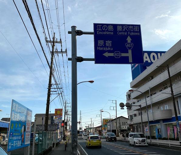 湘南台→六会日大前→善行→藤沢本町まで歩いた話