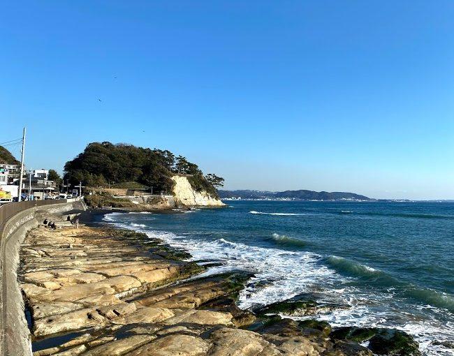 江ノ島から鎌倉まで歩いたらこうなる